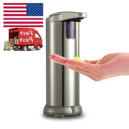 Automatic 280ml Liquid Soap Dispenser Touchless Bath Stainle
