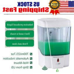 Automatic Dispenser Sanitizer Hands Touchless Liquid Soap Di
