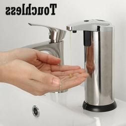 Automatic Ir Sensor Touchless Stainless Steel Dispenser Hand