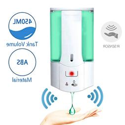 automatic liquid soap dispenser 450ml handfree touchless