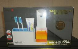 automatic soap dispenser and organizer