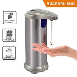 Automatic Soap Dispenser Hands Free Fingerprint Resistant St