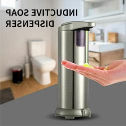 Automatic Soap Dispenser Stainless Visible Touchless Handsfr