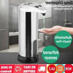 Automatic Soap Dispenser Touchless IR Sensor Liquid Foam Han