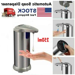 Automatic Soap Liquid Dispenser Stainless Steel Hands Free I