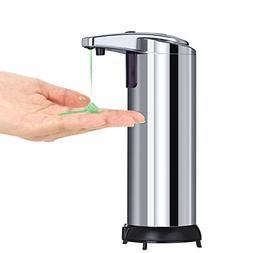KJ Home 9.5oz Automatic Touchless Soap Dispenser for Kitchen