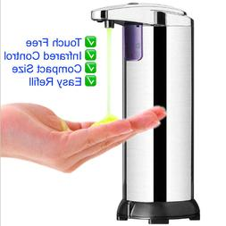 Automatic Touchless Soap Dispenser Stainless Steel Handsfree