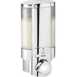 aviva single bottle shower dispenser