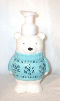 Bath & Body Works Ceramic Decorative POLAR BEAR Foaming Hand