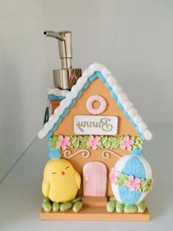 Bathroom Accessories EASTER BUNNY HOUSE Soap or Lotion Pump