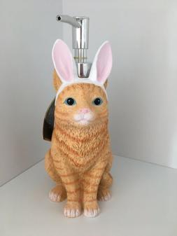 Bathroom Accessories Easter Cat Bunny Soap Lotion Pump Dispe