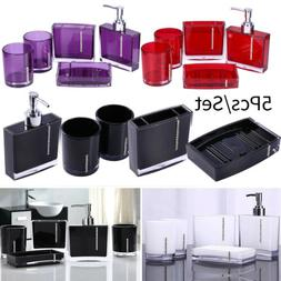Bathroom Accessories Set Gargle Cup Toothbrush Holder Soap D