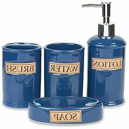 Bathroom Accessories Set, Toothbrush Holder, Soap Dispenser,