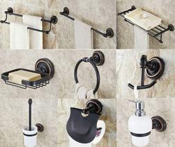 Black Oil Rubbed Brass Bathroom Hardware Set Bathroom Access