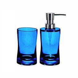 Bathroom Soap Dispenser Set - 2 Pieces - Liquid Soap / Lotio