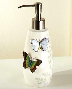 BEAUTIFUL BUTTERFLY THEMED BATHROOM KITCHEN SOAP LOTION DISP