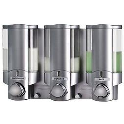 Better Living AVIVA Three Chamber Dispenser, Satin by Better