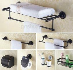 Black oil Rubbed Brass Bathroom Accessories Set Bath Hardwar