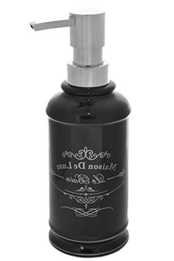 "Black & Silver French Paris ""Maison de Luxe Le Bain"" Lotion"