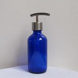 Craft Innovation Boston Round Glass Soap Dispenser with Meta