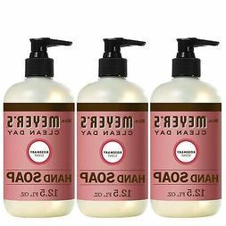 Brand New Mrs Meyers Hand Soap, Rosemary, 12.5 Fluid Ounce