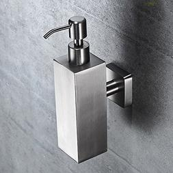 WINCASE Brushed Nickel Finish Shower Pump Shampoo and Soap D