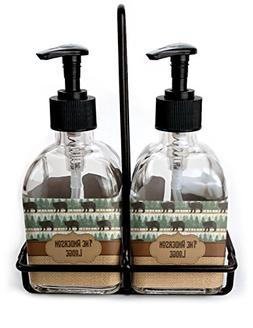 RNK Shops Cabin Soap & Lotion Dispenser Set