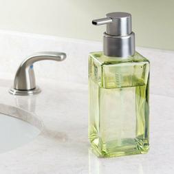 InterDesign Casilla Glass Foaming Soap Dispenser Pump for Ki