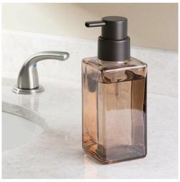 InterDesign Casilla Glass Foaming Soap Dispenser Pump. Kitch