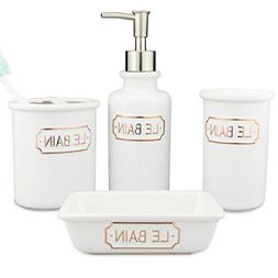 Stupendous Le Bain Bathroom Accessories Soap Dispenser Home Interior And Landscaping Ologienasavecom