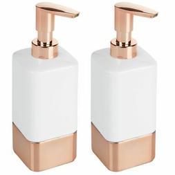 ceramic refillable liquid soap dispenser pumps