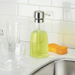 InterDesign Clarity Large Liquid Soap Dispenser Pump for Bat
