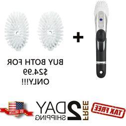 Cleaning Dish Brush, OXO Good Grips Soap Dispensing Dish Bru