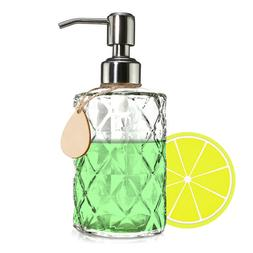 Clear Soap Dispensers Bathroom Fashion Glass Translucent Lot