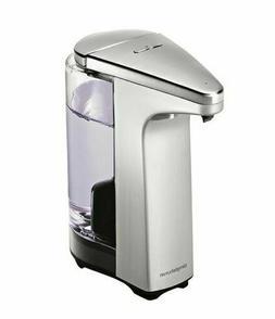 Simplehuman Compact Sensor Soap Pump Dispenser Brushed Nicke
