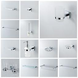 Contemporary Bathroom Accessory Bath Hardware Chrome Sliver