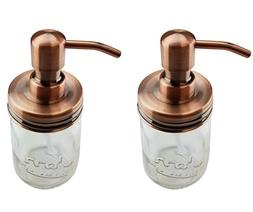 Nighthawk Copper Mason Jar Soap Dispenser Lids | Rust Proof
