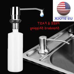 Deck Mounted Kitchen Sink Liquid Soap Dispenser Pump Bottle