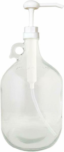 Dispenser pump bottle for kitchen and bathroom | Great for L