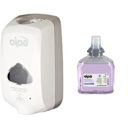 GOJO 2740-01 Dove Gray TFX Touch Free Dispenser with Matte F