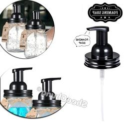 foaming soap and lotion hand dispenser pump