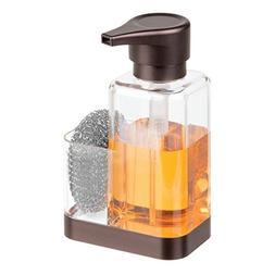 mDesign Modern Plastic Kitchen Sink Countertop Liquid Hand S