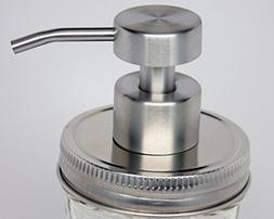 Foaming Stainless Steel Soap Pump Dispenser Lid Kit for Regu