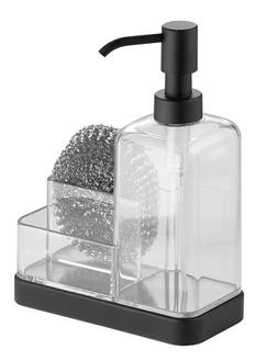 InterDesign Forma Kitchen Caddy with Soap Dispenser Pump & S