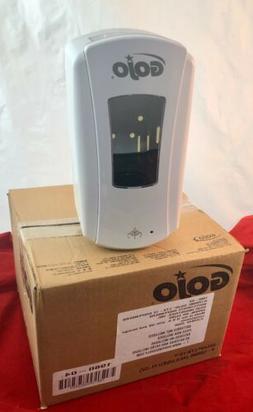 Four x GOJO LTX-12 Touch Free Dispenser, 1200 mL, White/Whit