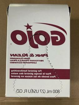 Gojo Gold & Klean Lotion Soap Bag-in-Box Dispenser Refill, 8