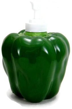 GREEN BELL PEPPER 3-Dimensional Soap/Lotion Dispenser NEW