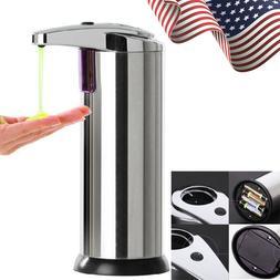 Hands Free Auto IR Smart Sensor Touchless Soap Liquid Dispen