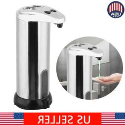 hands free automatic stainless steel soap shampoo