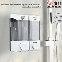 Home Wall Bathroom Shower Shampoo Lotion Liquid Soap Dispens